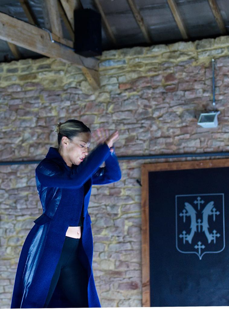 Sylvia Camarda: danseuse et chorégraphe luxembourgeoise; ambassadrice de la danse contemporaine.